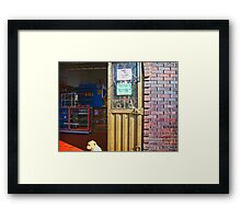 Customers Wanted Framed Print