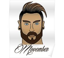 Movember Color Poster