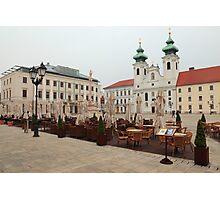 Historic Széchenyi Square II Photographic Print