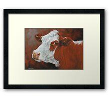 Fabulous Freda Framed Print