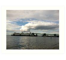 Ferry boat out of Edmonds, WA Art Print