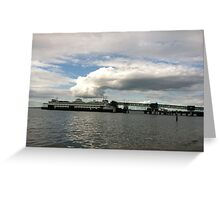 Ferry boat out of Edmonds, WA Greeting Card