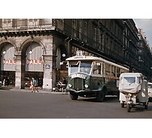 French public transport 19570920 0001  Photographic Print