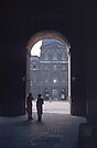 Arch in Louvre Paris 19570920 0002  by Fred Mitchell