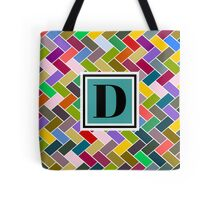 D Monogram Tote Bag