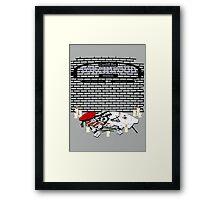 Cardiff Station Torchwood Tribute Framed Print