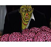 Zombie Tony Montana Photographic Print