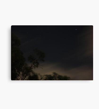 Moody Night Canvas Print