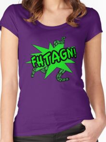 Fhtagn! Women's Fitted Scoop T-Shirt