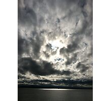 Sky at sea Photographic Print