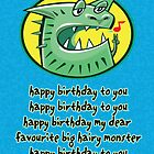 Hairy Monster by Beesty