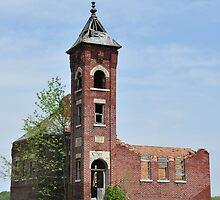 Old Brick Building Built 1913 by mltrue