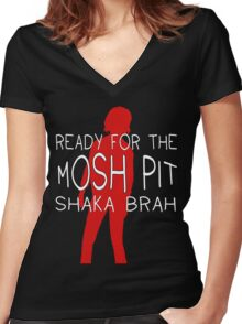 Shaka Brah - Life is Strange Women's Fitted V-Neck T-Shirt