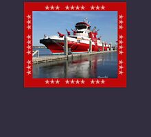 343 ~ FDNY's New Fireboat on Route to New York  Unisex T-Shirt