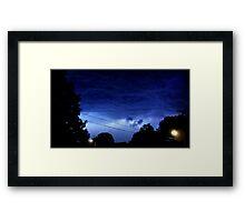 May 1 2012 Morning Storm 7 Framed Print