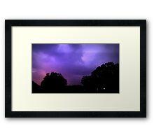 May 1 2012 Morning Storm 12 Framed Print
