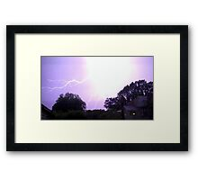 May 1 2012 Morning Storm 17 Framed Print