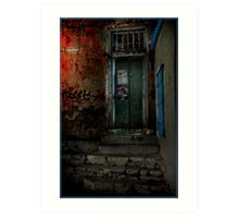 Hotel Leto Greek Islands Art Print