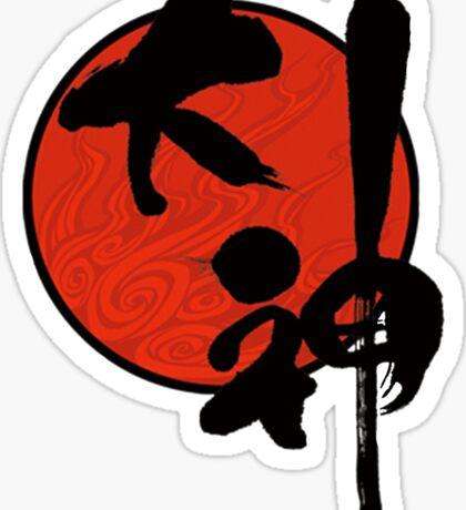Okami Logo Sticker