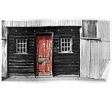 Red door- maldon Vic Poster