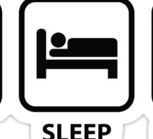 Eat Sleep Skydive Sticker