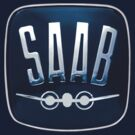 Classic Saab badge by Robin Lund