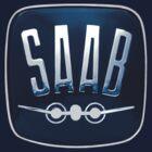 Classic Saab badge by Robin Lund