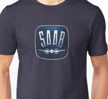 Classic Saab badge Unisex T-Shirt