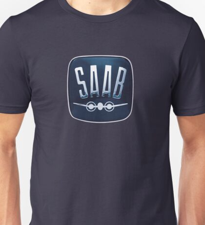Classic Saab badge Unisex T-Shirt