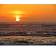 Our 25th Anniversary Sunset.....Florence, Oregon Photographic Print