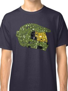 Halo text Art Classic T-Shirt