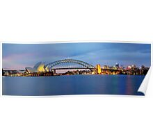 The Other Side - Sydney Panorama Poster