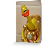 Vampire Duck? Greeting Card