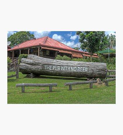 The Pub With No Beer, Taylor's Arm, NSW, Australia Photographic Print