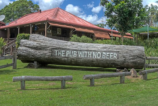 The Pub With No Beer, Taylor's Arm, NSW, Australia by Adrian Paul