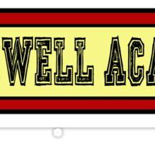 Blackwell Academy Sticker