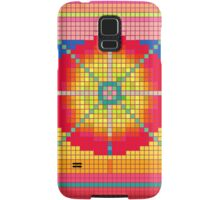Colorful Pixel Art Pattern iPhone 4 Case / Samsung Galaxy Cases  Samsung Galaxy Case/Skin