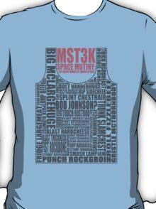 MST3K: The many names of David Ryder T-Shirt