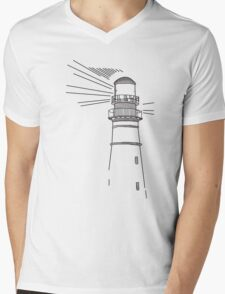 You Can Never Escape the Lighthouse (Life is Strange) Mens V-Neck T-Shirt