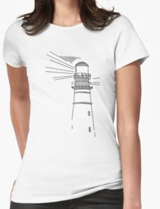 You Can Never Escape the Lighthouse (Life is Strange) Womens Fitted T-Shirt