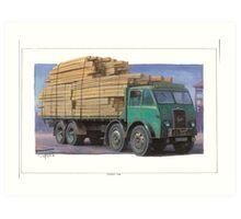 Roger's Foden DG Art Print