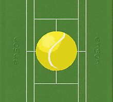 Tennis Love by EnsonClothing