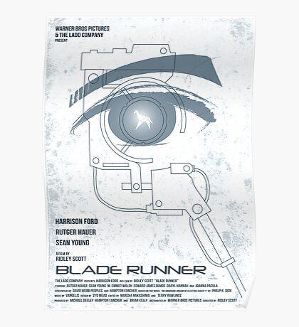 BLADE RUNNER (White-Voight Kampf Test Version) Poster