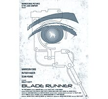 BLADE RUNNER (White-Voight Kampf Test Version) Photographic Print