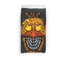 Jack-O-Bonnie - Five Nights at Freddy's 4 Halloween - Pixel art Duvet Cover