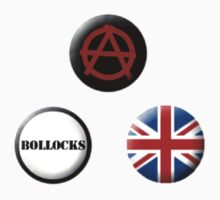 Buttons: Punk by MelancholyChild