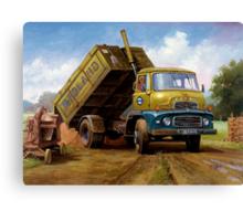 Dodge tipper. Canvas Print