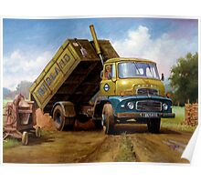 Dodge tipper. Poster