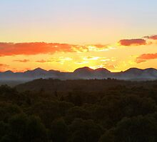 Warrumbungles, NSW. by Andy Newman