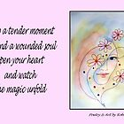 Poetry in Art - A Tender Moment by Robin Monroe